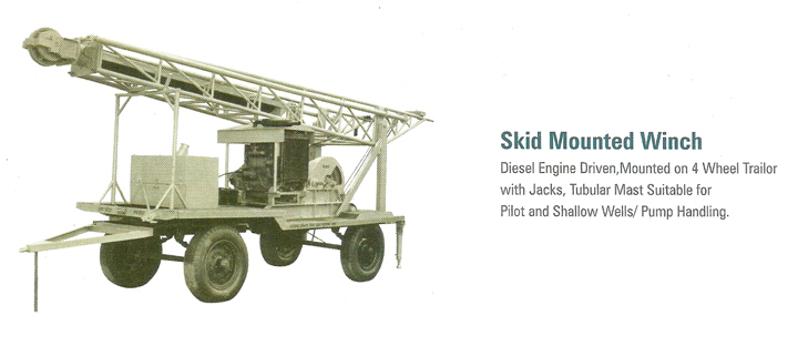 Skid Mounted Winch